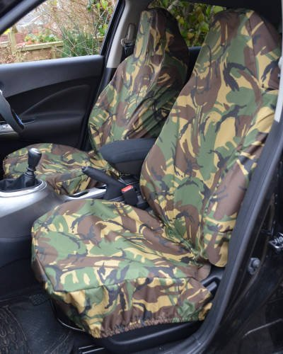 Camouflage Green Seat Covers