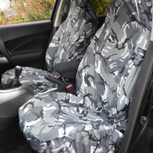 Universal Front Seat Covers – Camouflage (All Models)