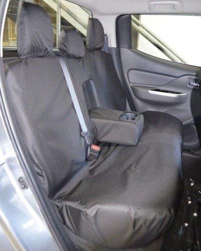 Fiat Fullback Black Seat Covers