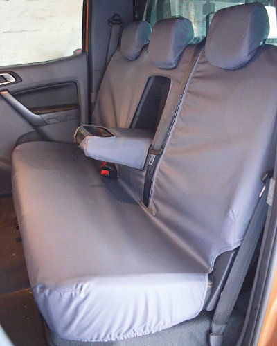 Ford Ranger Grey Rear Seat Covers 2012 on
