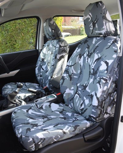 MERCEDES SPRINTER VAN FRONT SEAT COVER WATERPROOF GREY