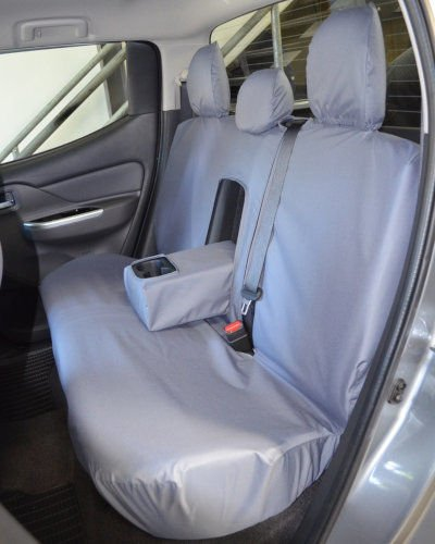 Mitsubishi L100 Seat Cover Back 2015 on