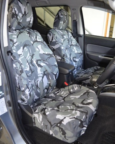 REAR CAR SEAT COVER PROTECTOR for MITSUBI L200