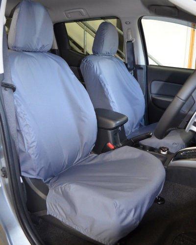 Mitsubishi L100 Seat Covers in Grey 2015 on