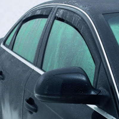 Navara D40 Side Window Deflectors
