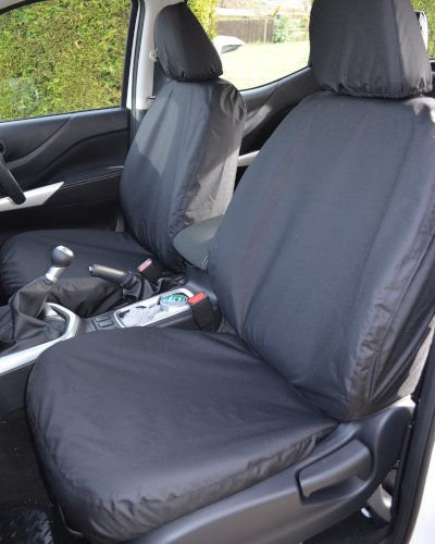 Nissn Navara NP300 Black Seat Covers