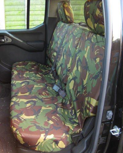 Nissan Navara D40 Rear Seat Covers
