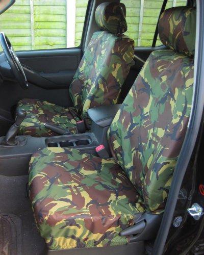 Nissan Navara Seat Covers D40 Camo