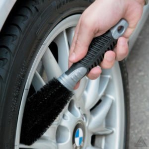 Alloy Wheel Cleaning Kit – Brushes and Sponge