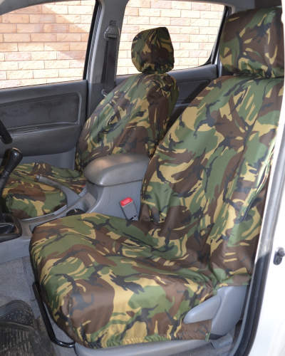 Camo Seat Covers for Toyota Hilux Mk7
