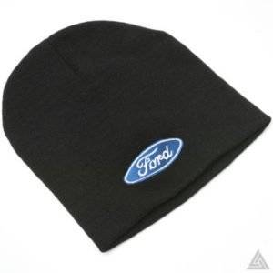 Beanie Hat with Ford Logo (Black or Blue)