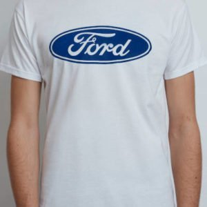 T-Shirt with Ford Blue Oval – Short Sleeves