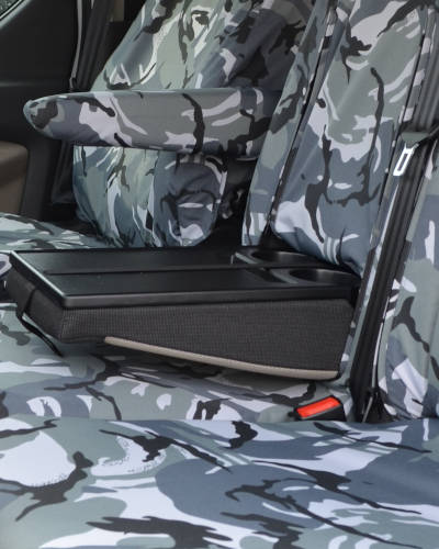Ford Transit Custom Seat Covers - Camouflage