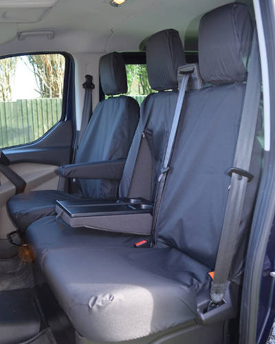 Ford Transit Custom Seat Covers - Double