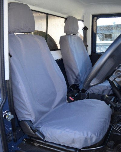 Land Rover Defender Seat Covers in Grey