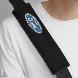 Seat Belt Pads with Ford Blue Oval (All Models)