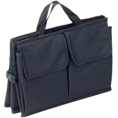 Boot Organiser with Pockets Folded Flat