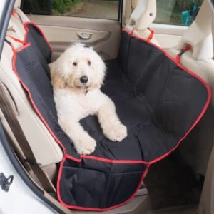 Rear Seat Protector for Dogs – Side Flaps (Pickups and SUVs)
