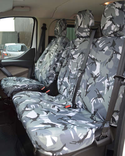 Ford Transit Camouflage Seat Covers
