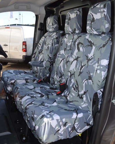 Peugeot Expert Seat Covers Camouflage