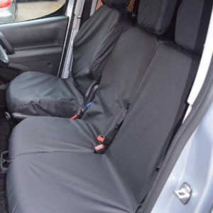 Peugeot Partner Seat Covers – Tailored Dual Set (2018 on)