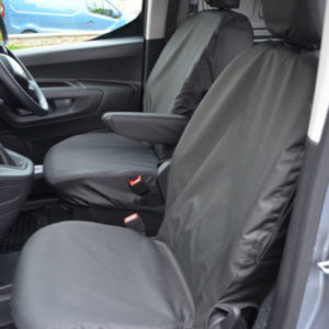 Peugeot Partner Seat Covers – Tailored Front Pair (2018 on)