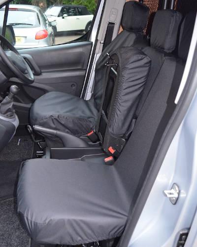 Peugeot Partner Van Double Seat Covers