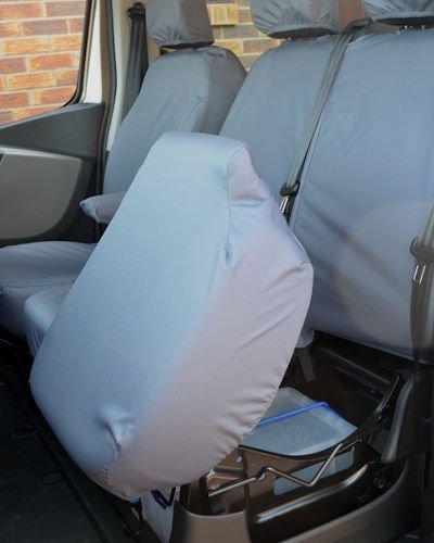 Renault Trafic Seat Covers - Dual Grey