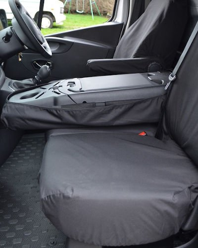 Renault Trafic Seat Covers for Mobile Office