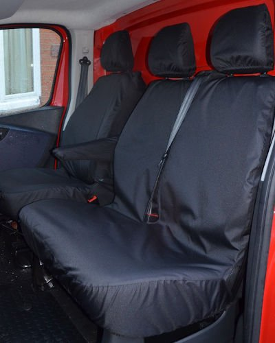Renault Trafic Waterproof Seat Covers - Bench