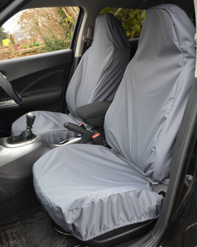 Front Seat Covers for Nissan Qashqai - Grey