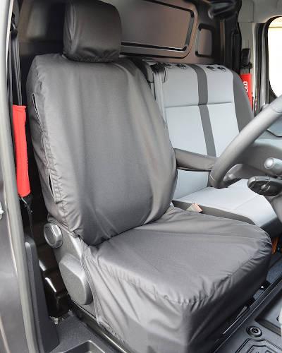 Vauxhall Vivaro Front Seat Cover - Black