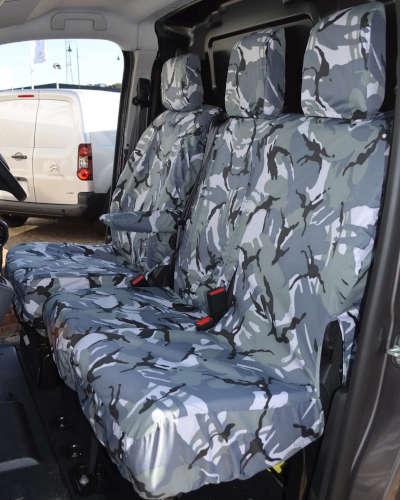 Vauxhall Vivaro Camouflage Seat Covers