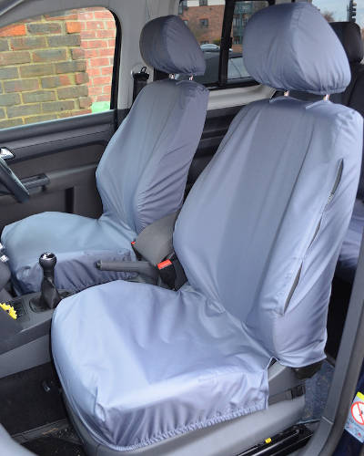 VW Caddy Van Waterproof Seat Covers