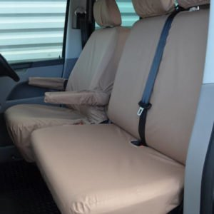 VW Transporter Seat Covers – Tailored Double Set (2010 on)