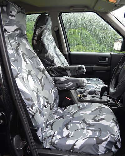 Discovery 4 Camo Seat Covers