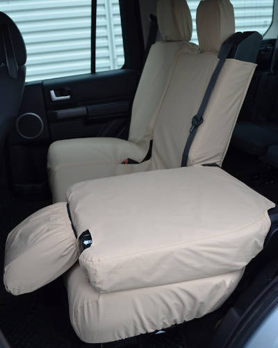 Discovery 4 Tailored Rear Seat Covers