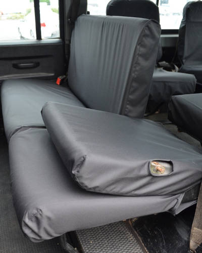 Land Rover Defender Split Rear Seat Covers