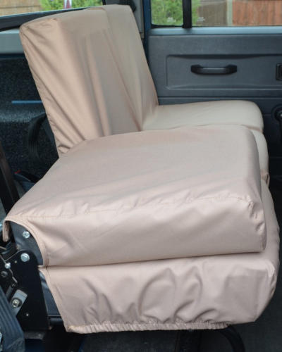 Land Rover Defender Triple Rear Seat Covers