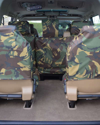 Land Rover Discovery II Back Seat Covers