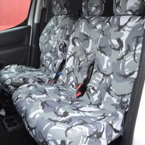Citroen Berlingo II Seat Covers – 3 Front Seats (2008-2018)