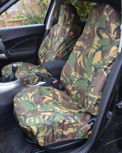 Camouflage Van Seat Covers