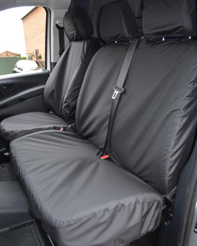 Double Seat Covers for Mercedes Vito