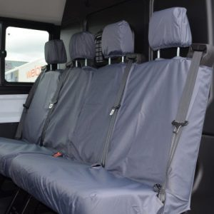 Ford Transit Seat Covers – Double Cab Rear (2014 on)