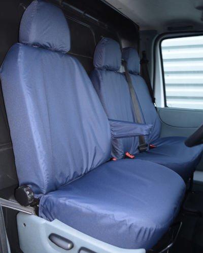 Ford Transit Van Blue Seat Covers