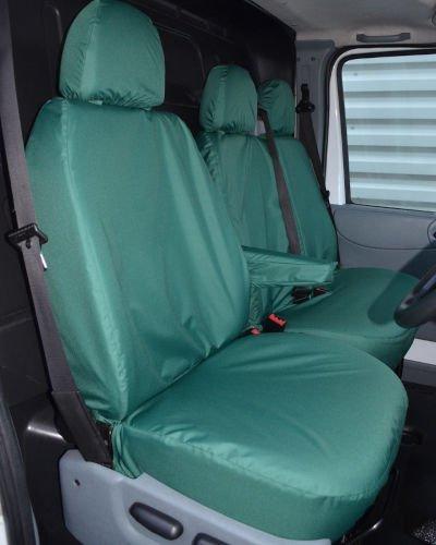 Ford Transit Van Green Seat Covers