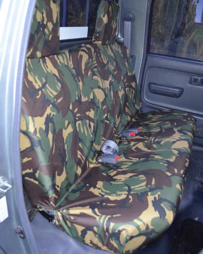 Hilux Seat Covers - Green Camouflage