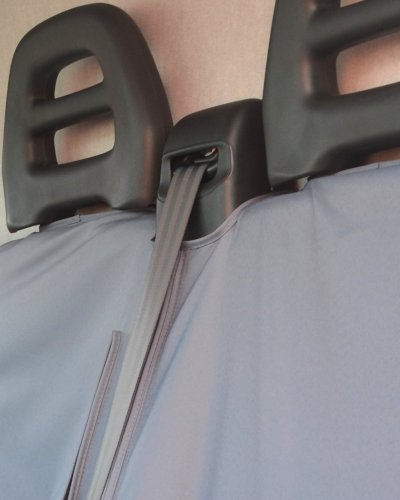 Iveco Daily Seat Covers with Middle Seat Belts