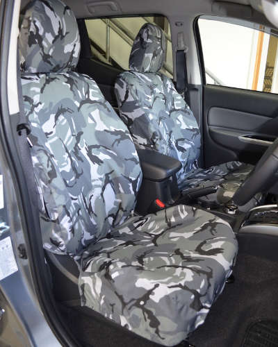 L200 Barbarian Camo Seat Covers