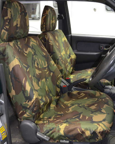 L200 Camouflage Seat Covers